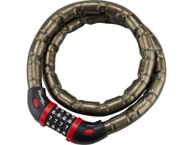 Masterlock 8228 Armored Cable Lock 10mm x 1000mm, grey